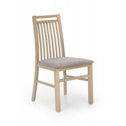 HUBERT9 krzesło dąb sonoma / tap: Inari 23 - Halmar