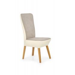 ORCHID 2 mix krzesło dąb miodowy / jasny beż / beż  - Halmar
