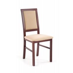 SYLWEK1 BIS krzesło ciemny orzech / INARI45 - Halmar