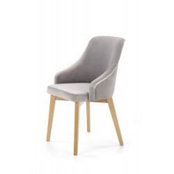 TOLEDO 2 krzesło dąb miodowy / tap. Solo 265 - Halmar