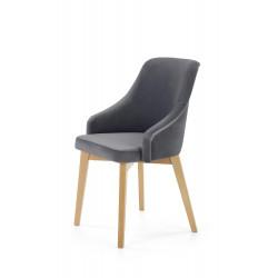 TOLEDO 2 krzesło dąb miodowy / tap. Solo 267 - Halmar