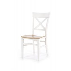 TUTTI krzesło biały / dąb miodowy - Halmar