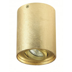 Plafon TUBA NERO 1L GOLD - Auhilon