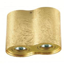 Plafon TUBA NERO 2L GOLD - Auhilon