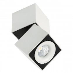 Sevilla Square Ceiling 4000K  SLC7562/28W 4000K WH+BL - lampa Italux