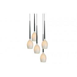 Izza 5 MB1288A-5W shiny white - lampa biała Azzardo