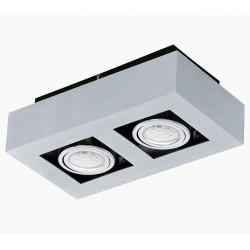 LOKE 1 91353 - plafon 2-punktowy LED EGLO