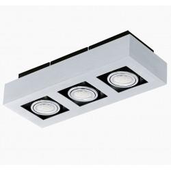 LOKE 1 91354 - plafon 3-punktowy LED EGLO