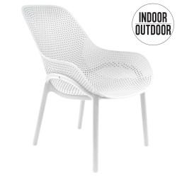 Krzesło Malibu białe