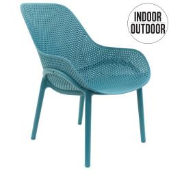 Krzesło Malibu niebieskie