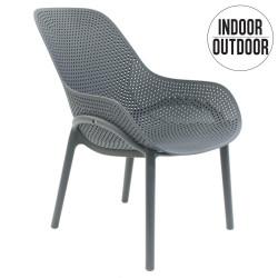 Krzesło Malibu szare