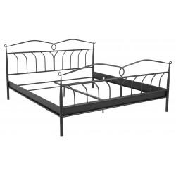 Łóżko Line czarne 180x200