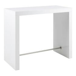 Stół barowy Block biały