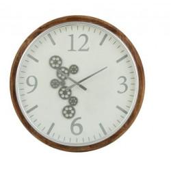 Zegara Radar Mdf Biały / Brązowy / Szary Duży