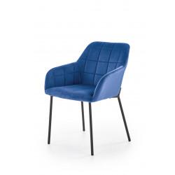 K305 krzesło czarny / granatowy - Halmar