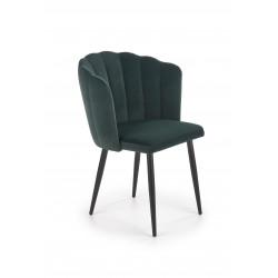 K386 krzesło ciemny zielony - Halmar