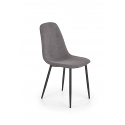 K387 krzesło popielaty - Halmar