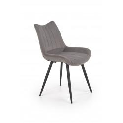 K388 krzesło popielaty - Halmar