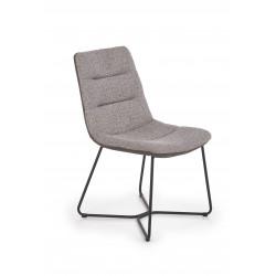 K403 krzesło popielaty / jasny popiel - Halmar