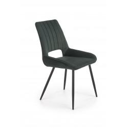 K404 krzesło ciemny zielony - Halmar