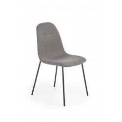K413 krzesło popielaty - Halmar