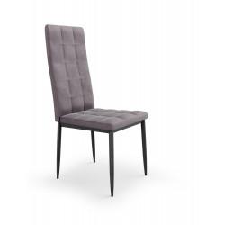 K415 krzesło popielaty velvet - Halmar