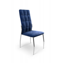 K416 krzesło granatowy velvet - Halmar