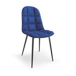K417 krzesło granatowy velvet - Halmar