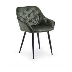 K418 krzesło ciemny zielony - Halmar