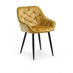 K418 krzesło musztardowy - Halmar