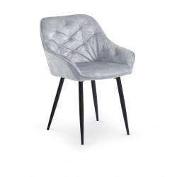 K418 krzesło popielaty - Halmar