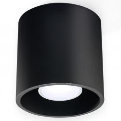 Plafon ORBIS 1 Czarny - Sollux