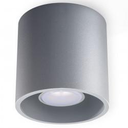 Plafon ORBIS 1 Szary - Sollux