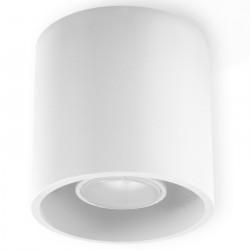 Plafon ORBIS 1 Biały - Sollux