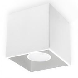 Plafon QUAD 1 Biały - Sollux