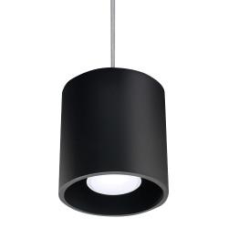 Lampa Wisząca ORBIS 1 Czarny - Sollux