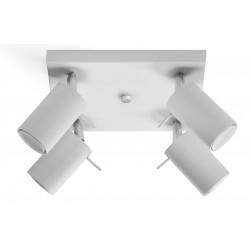 Plafon RING 4 Biały - Sollux