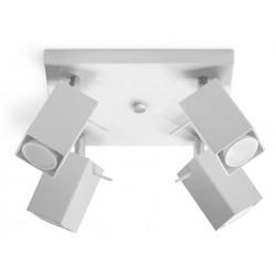 Plafon MERIDA 4 Biały - Sollux