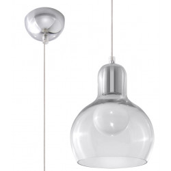 Lampa Wisząca CARLA Transparentny - Sollux