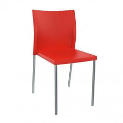 Krzesło Bikini czerwone