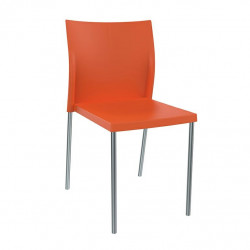 Krzesło Bikini pomarańczowe