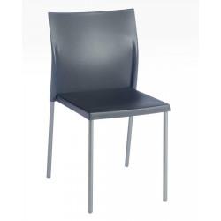 Krzesło Bikini szare ciemne