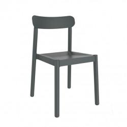 Krzesło Elba szare ciemne