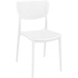 Krzesło Lucy białe
