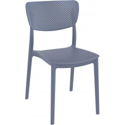 Krzesło Lucy szare