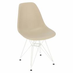 Krzesło P016 PP White beżowe