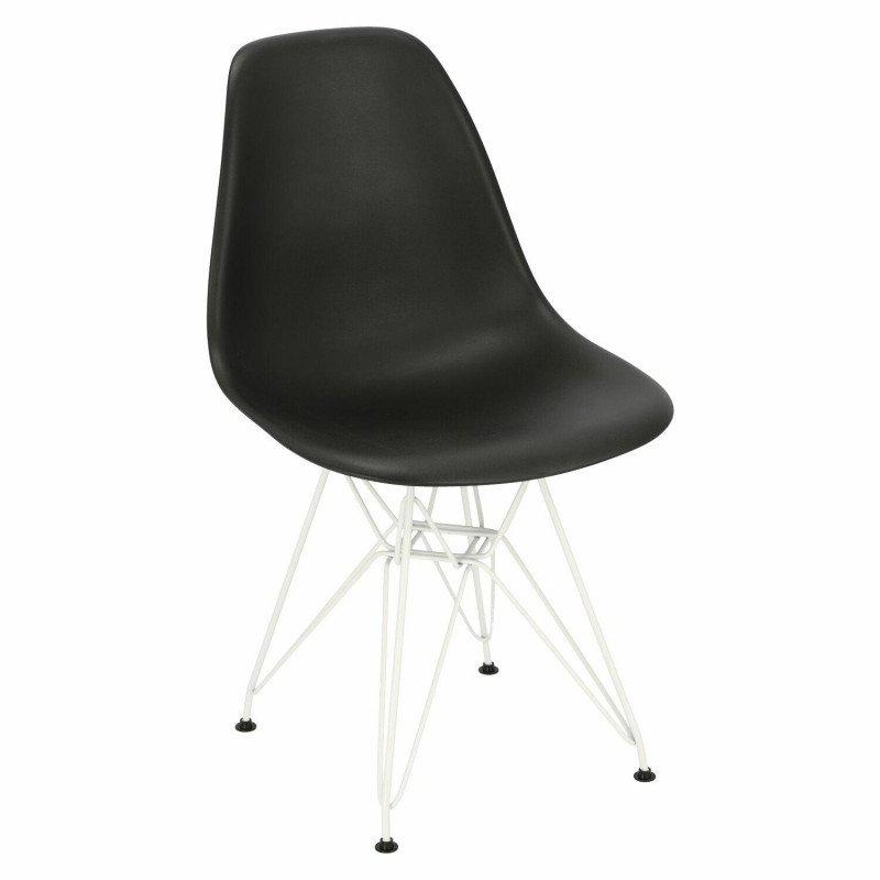Krzesło P016 PP White czarne