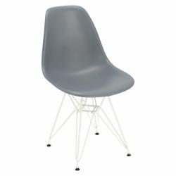 Krzesło P016 PP White dark grey