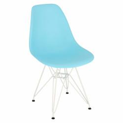 Krzesło P016 PP White ocean blue