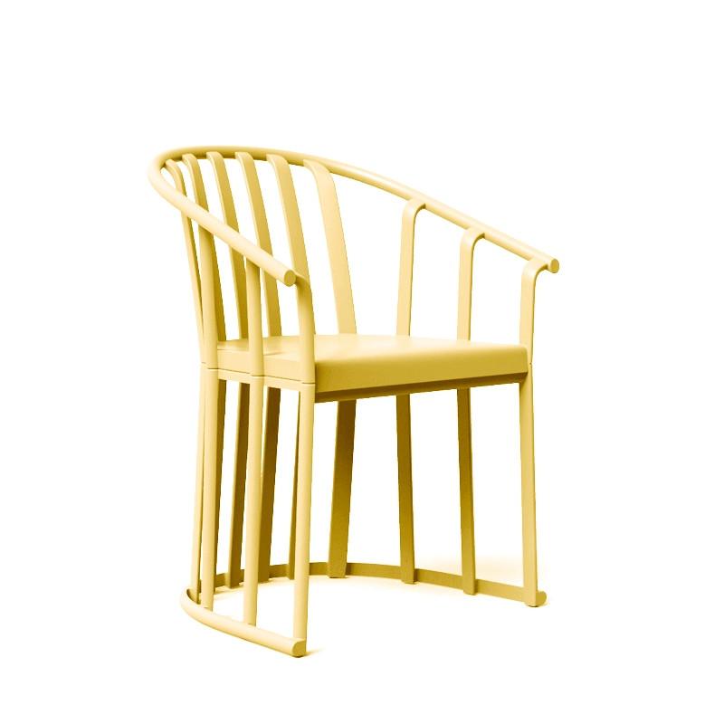 Krzesło Raff żółte